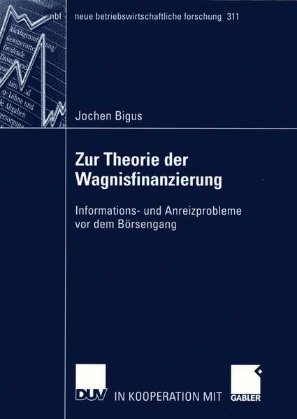 Zur Theorie der Wagnisfinanzierung als Buch