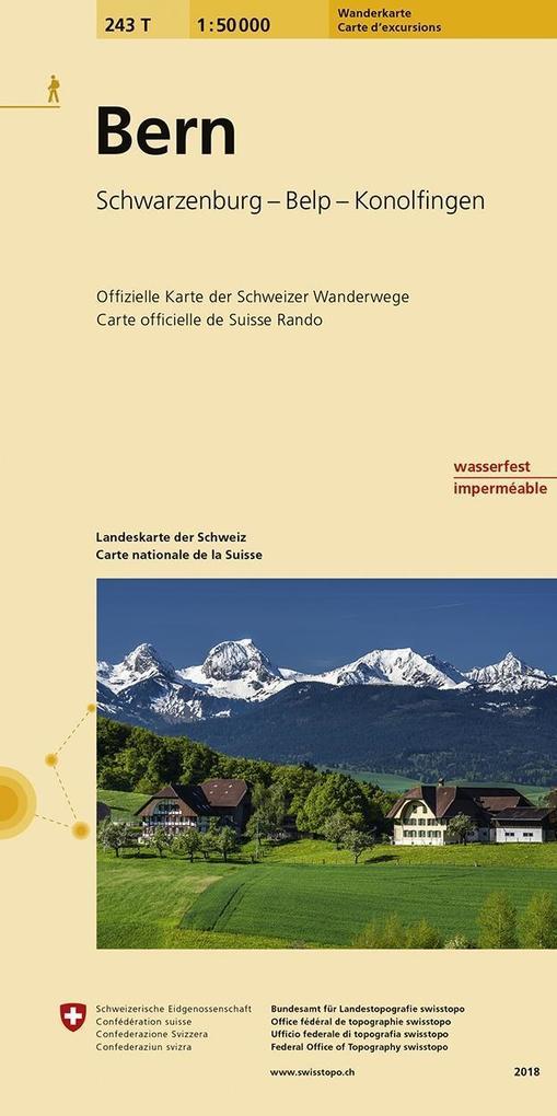 Swisstopo 1 : 50 000 Bern als Buch