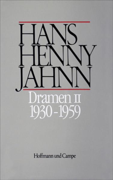 Werke 7. Dramen II 1930 - 1959 als Buch
