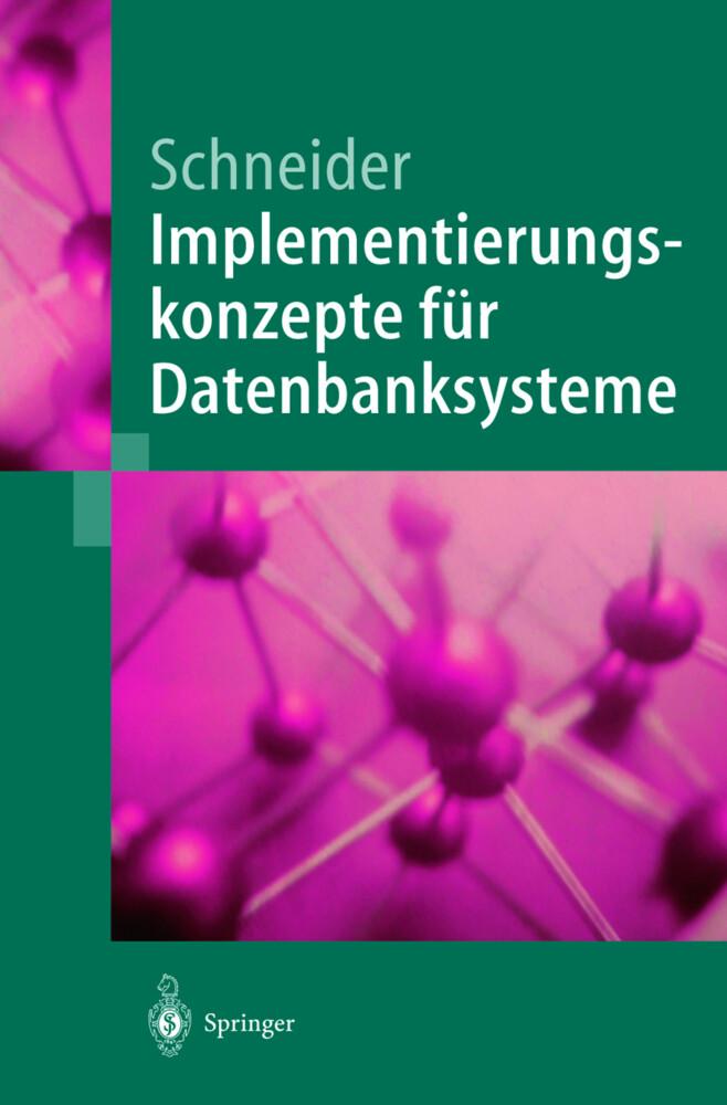 Implementierungskonzepte für Datenbanksysteme als Buch