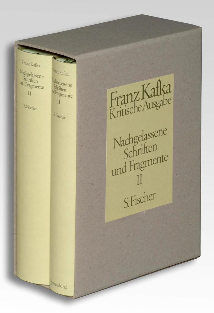 Nachgelassene Schriften und Fragmente II. Kritische Ausgabe als Buch
