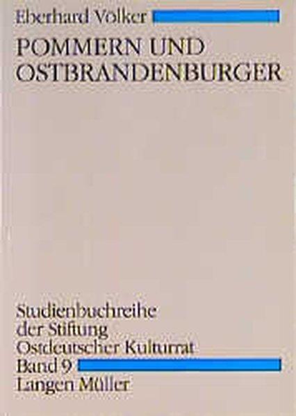 Pommern und Ostbrandenburger als Buch