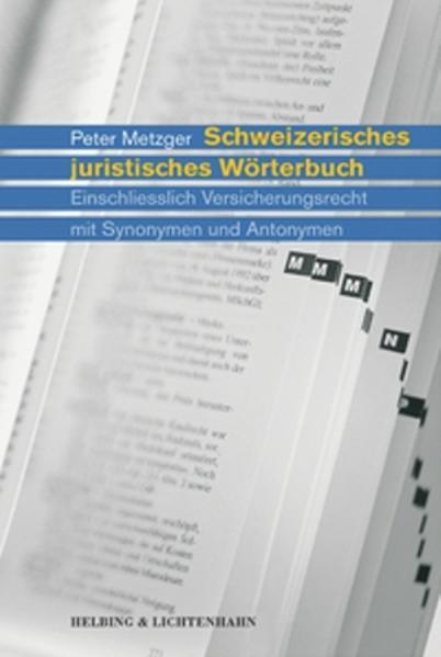 Schweizerisches juristisches Wörterbuch als Buch