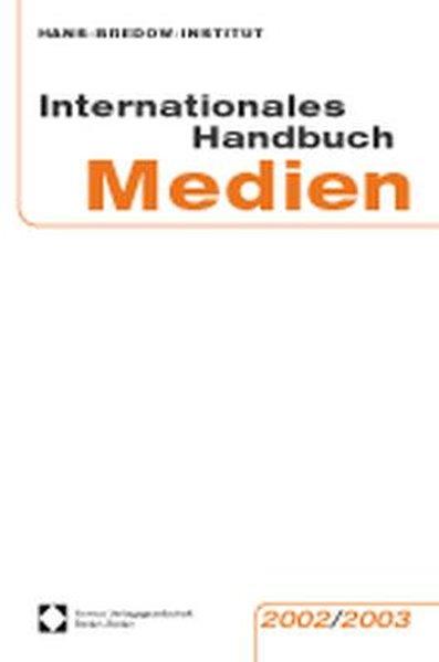 Internationales Handbuch Medien 2002/2003 als Buch