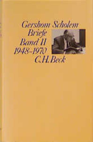 Scholem Briefe Bd. II: 1948-1970 als Buch