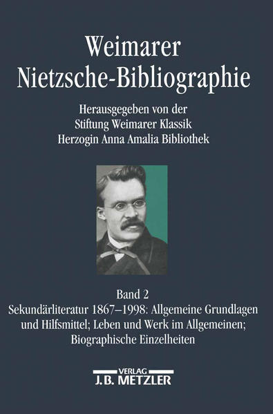 Weimarer Nietzsche-Bibliographie in 5 Bänden. Bd.2 als Buch
