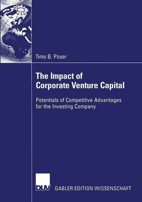 The Impact of Corporate Venture Capital als Buch