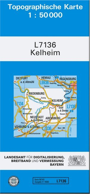 Kelheim 1 : 50 000 als Buch