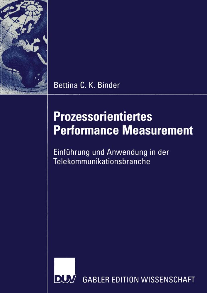 Prozessorientiertes Performance Measurement als Buch