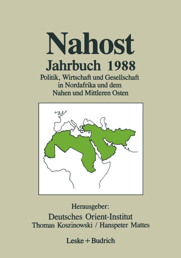 Nahost Jahrbuch 1988 als Buch
