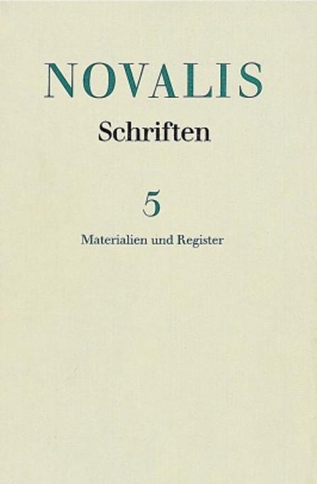 Materialien und Register als Buch