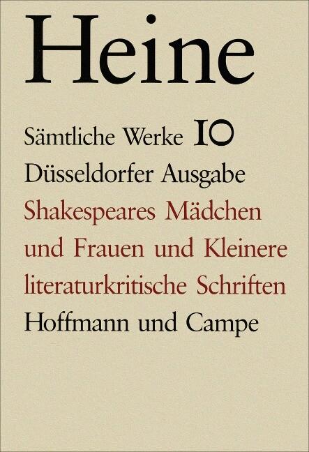 Shakespeares Mädchen und Kleinere literaturkritische Schriften als Buch