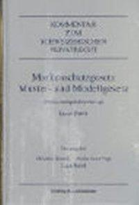 Markenschutzgesetz, Muster- und Modellgesetz als Buch