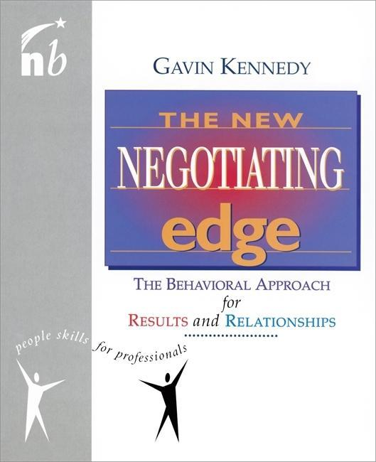 The New Negotiating Edge als Taschenbuch