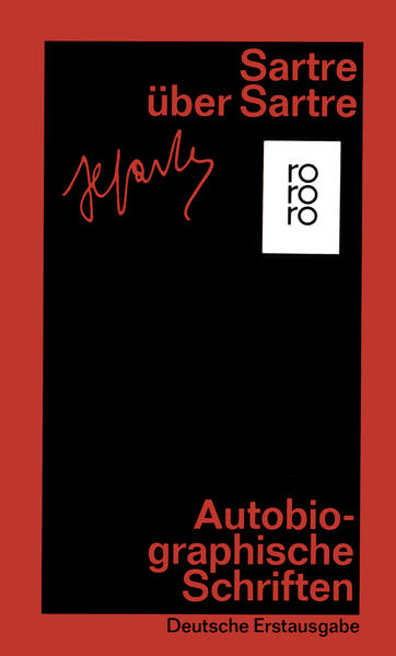 Sartre über Sartre als Taschenbuch
