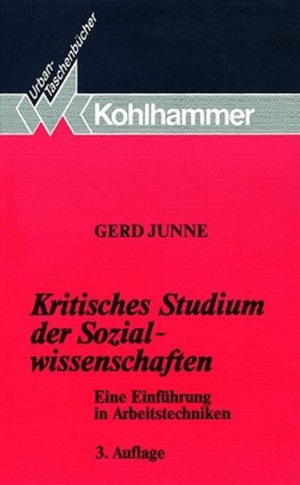 Kritisches Studium der Sozialwissenschaften als Taschenbuch