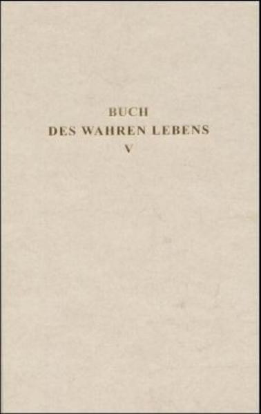 Buch des Wahren Lebens 5 als Buch