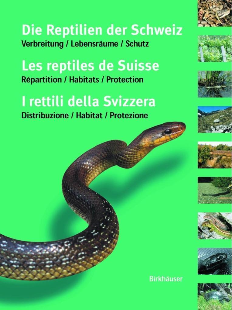 Reptilienatlas der Schweiz als Buch