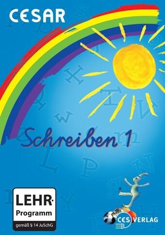 Cesar Schreiben 1.0, 2.-4. Klasse, 1 CD-ROM als Software