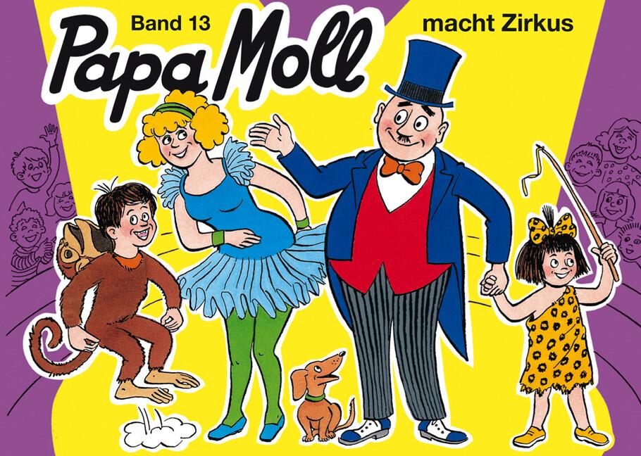 Papa Moll macht Zirkus als Buch