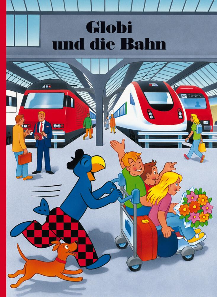 Globi und die Bahn als Buch