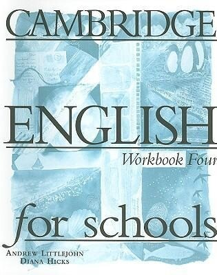 Cambridge English for Schools Workbook Four als Taschenbuch