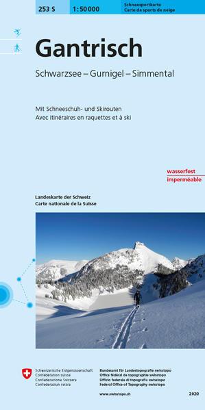Swisstopo 1 : 50 000 Gantrisch/Ski als Buch