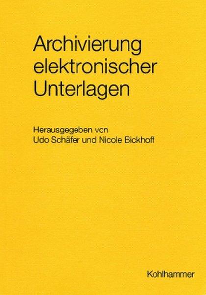 Archivierung elektronischer Unterlagen als Buch
