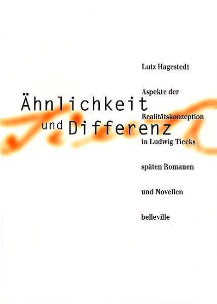 Ähnlichkeit und Differenz als Buch