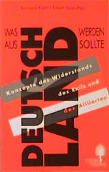 Was aus Deutschland werden sollte als Buch