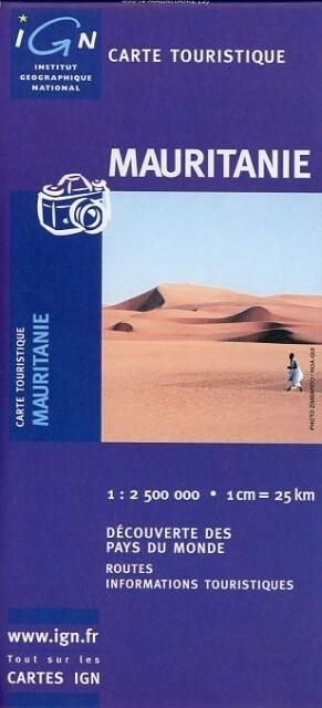 Mauritanie 1 : 2 500 000 als Buch
