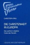 Novalis. Die Christenheit in Europa