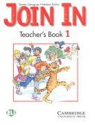 Join in Teacher's Book 1 als Taschenbuch