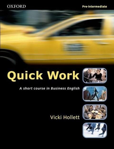 Quick Work Pre-Intermediate Student's Book als Buch
