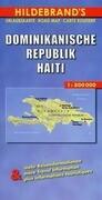 Dominikanische Republik / Haiti 1 : 800 000. Hildebrand's Urlaubskarte