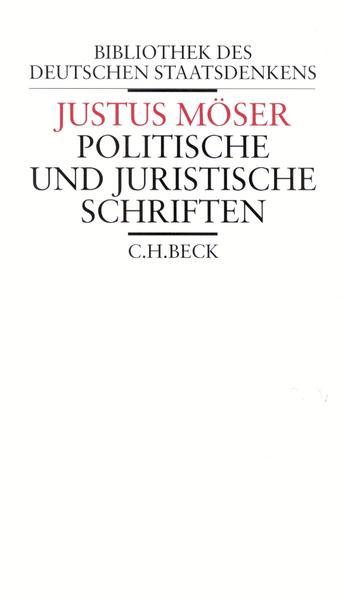Politische und juristische Schriften als Buch