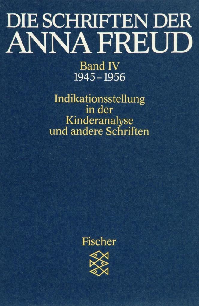 Die Schriften der Anna Freud 04 als Taschenbuch