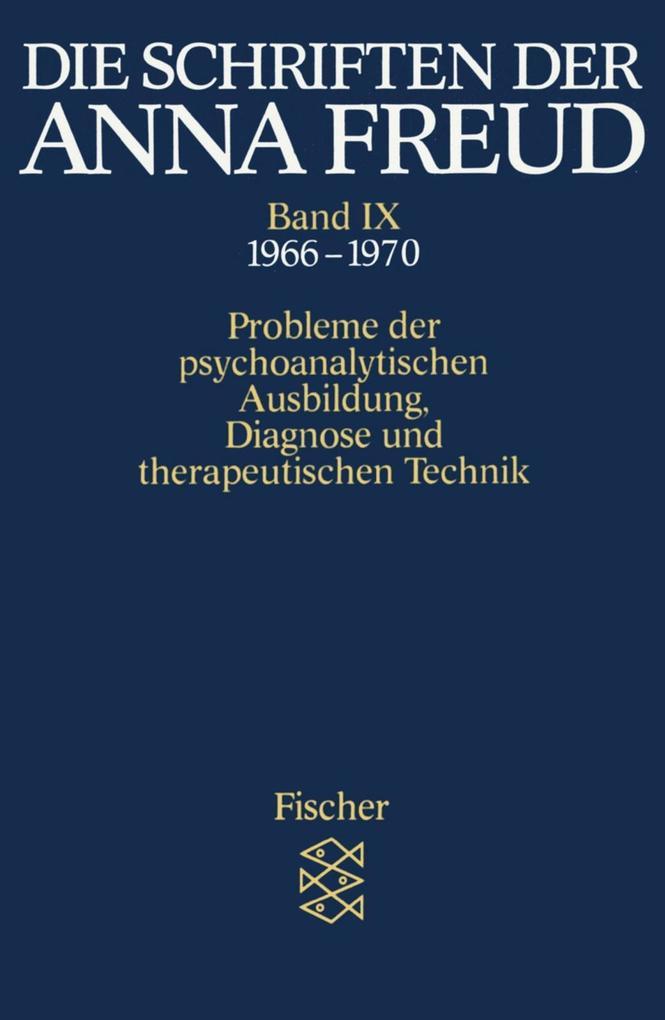 Die Schriften der Anna Freud 09 als Taschenbuch