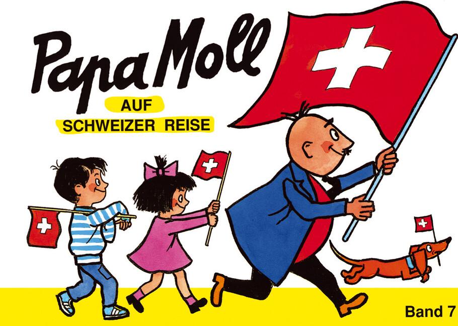 Papa Moll auf Schweizer Reise als Buch