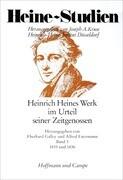 Heinrich Heines Werk im Urteil seiner Zeitgenossen III. 1835 - 1836