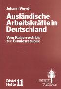 Ausländische Arbeitskräfte in Deutschland als Buch