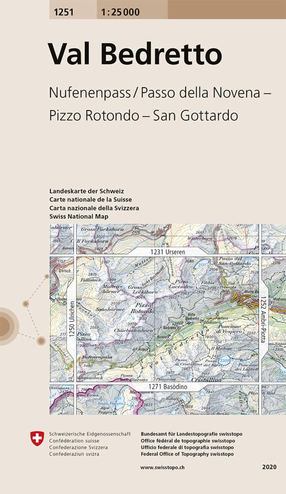 Swisstopo 1 : 25 000 Raron als Buch