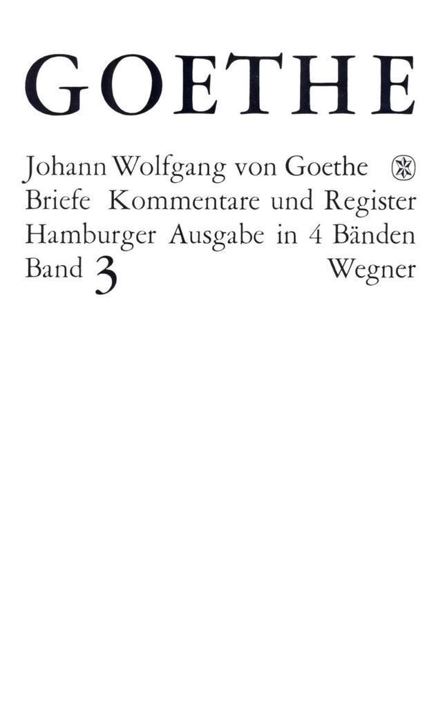 Die Briefe der Jahre 1805-1821 als Buch
