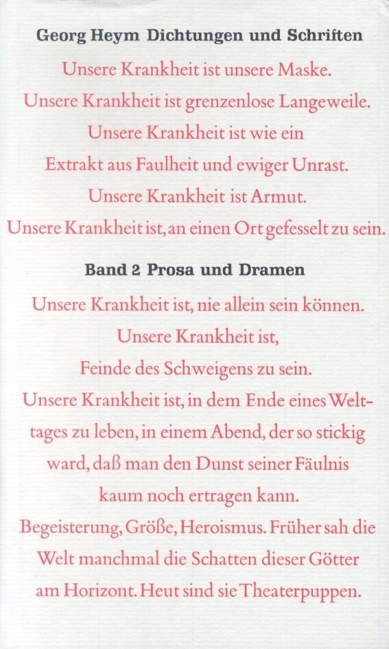 Dichtung und Schriften Bd. 2: Prosa und Dramen als Buch