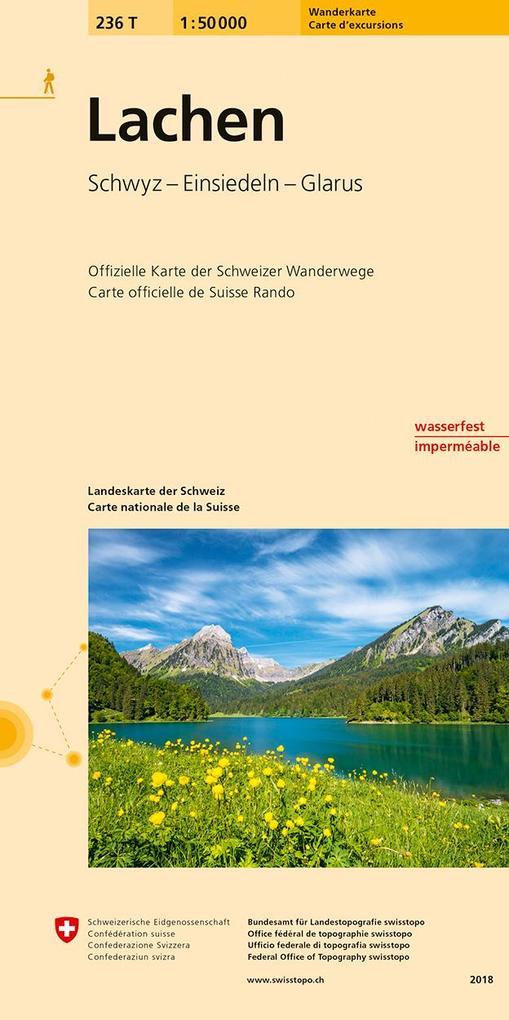 Swisstopo 1 : 50 000 Lachen als Buch