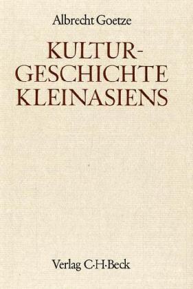 Kulturgeschichte Kleinasiens als Buch