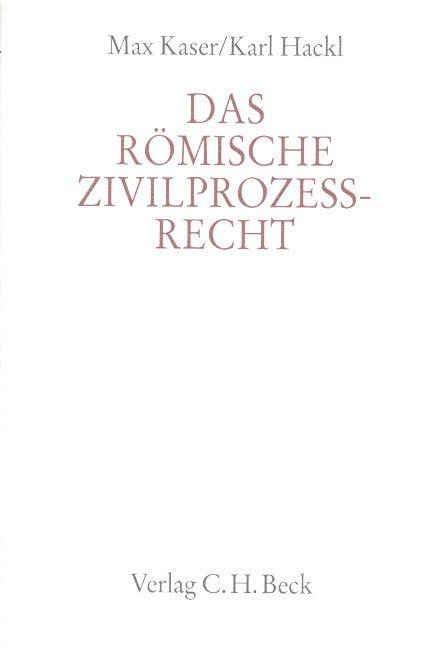 Das römische Zivilprozeßrecht als Buch