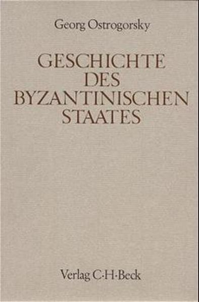 Geschichte des byzantinischen Staates als Buch