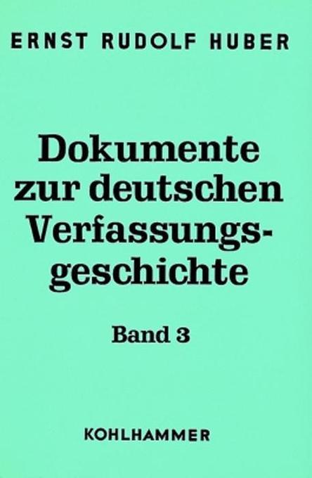 Deutsche Verfassungsdokumente 1900 - 1918 als Buch