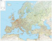 KuF Europa physikalisch 1 : 1 500 000. Planokarte